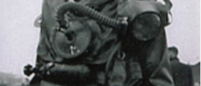 """Featured image for Join us for """"In at the deep end"""", a talk by 1950s Navy diver Peter Shore"""